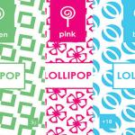 LOLLIPOP Bundle 15g BLUE GREEN PINK