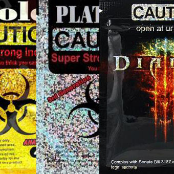 Caution Bundle 12g Gold Platinium Diablo
